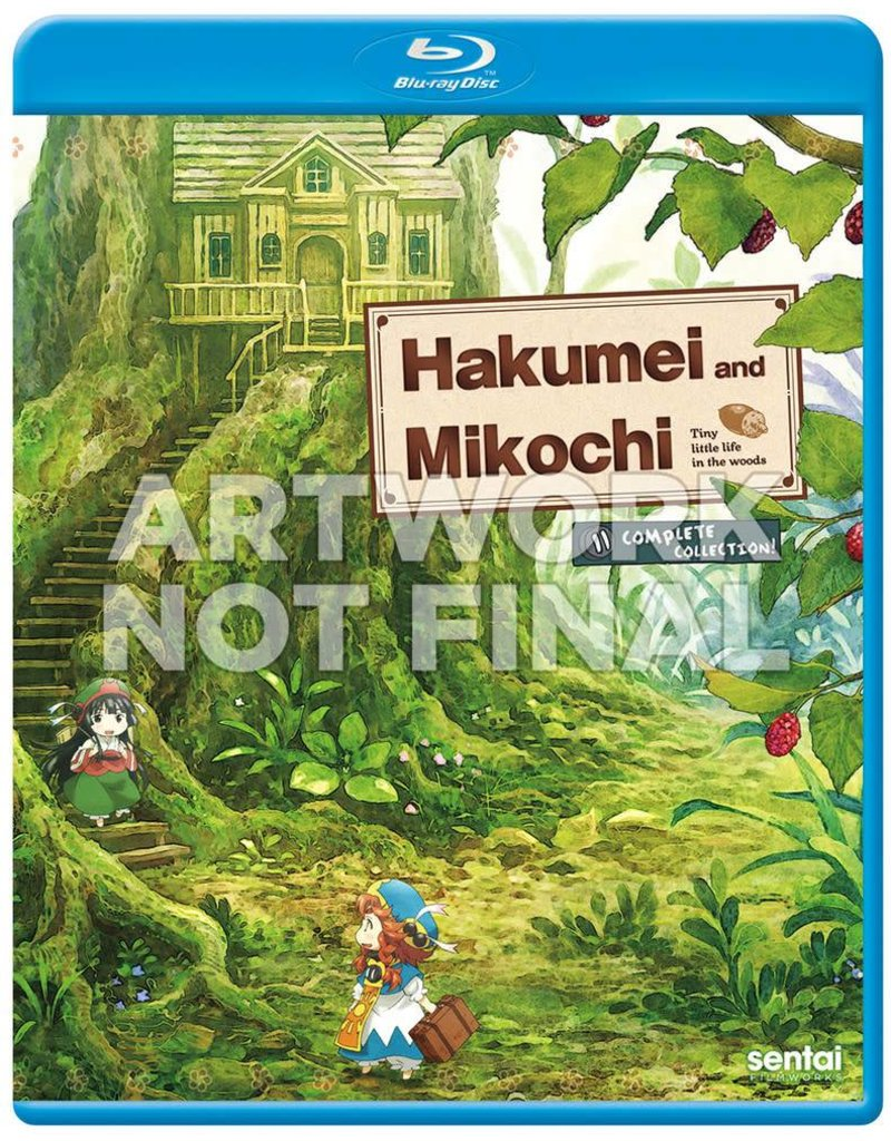 Sentai Filmworks Hakumei And Mikochi Blu-Ray
