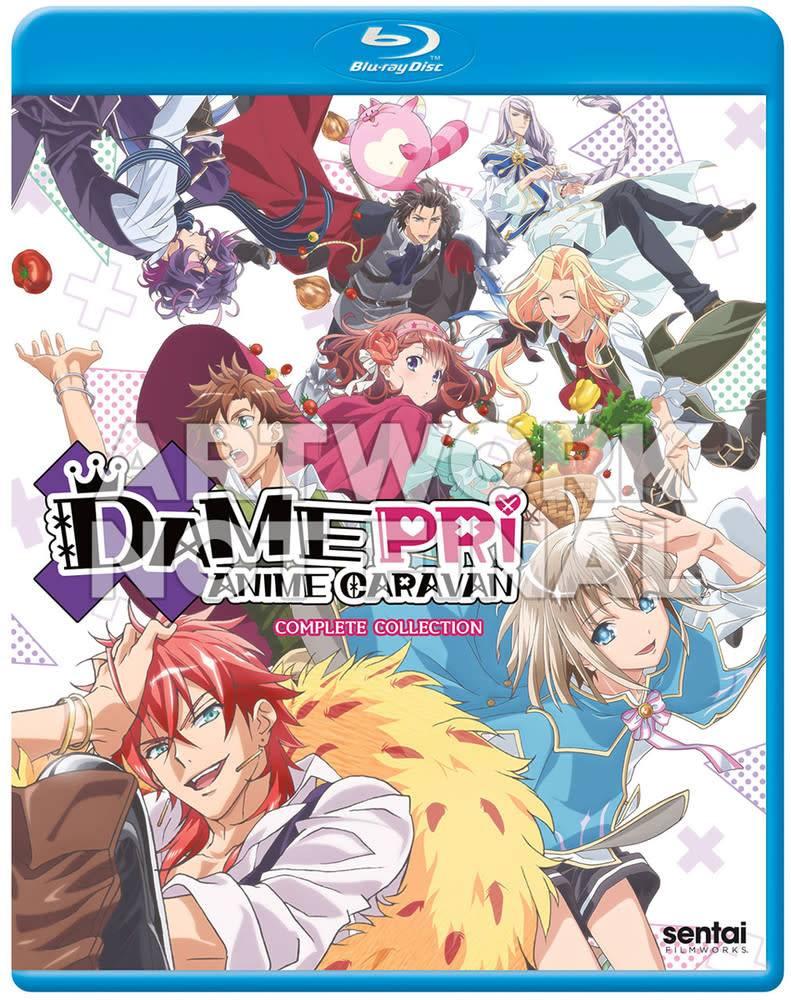 Sentai Filmworks Damepri Anime Caravan Blu-Ray