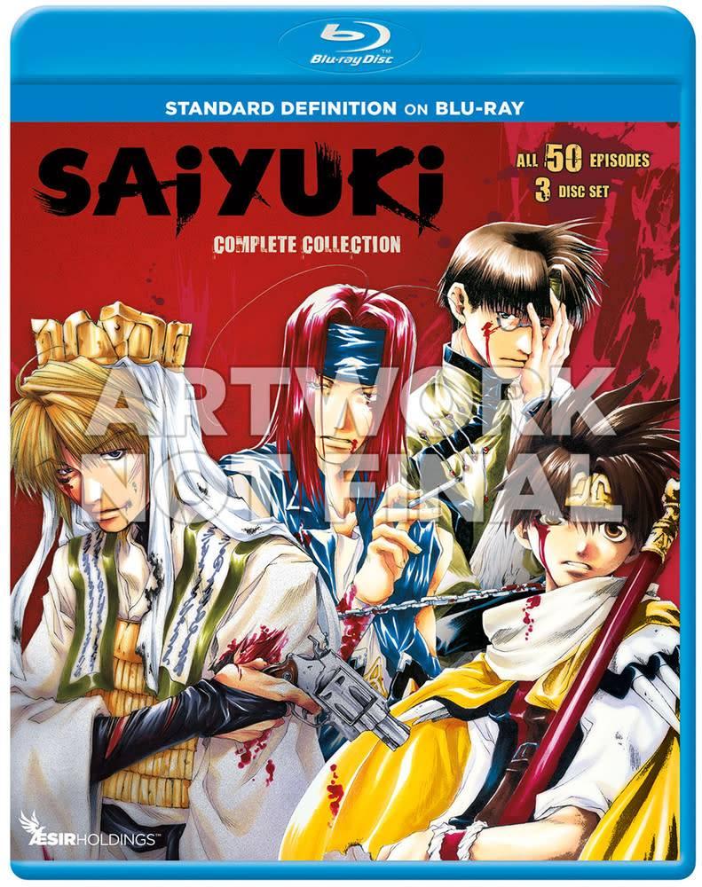 Sentai Filmworks Saiyuki Blu-Ray