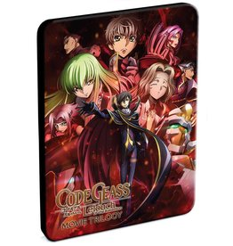 Funimation Entertainment Code Geass Lelouch Of The Rebellion Movie Trilogy Steelbook Blu-Ray