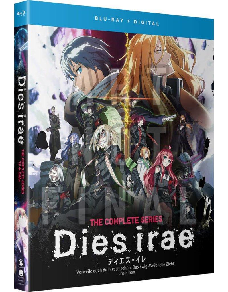 Funimation Entertainment Dies Irae Blu-Ray