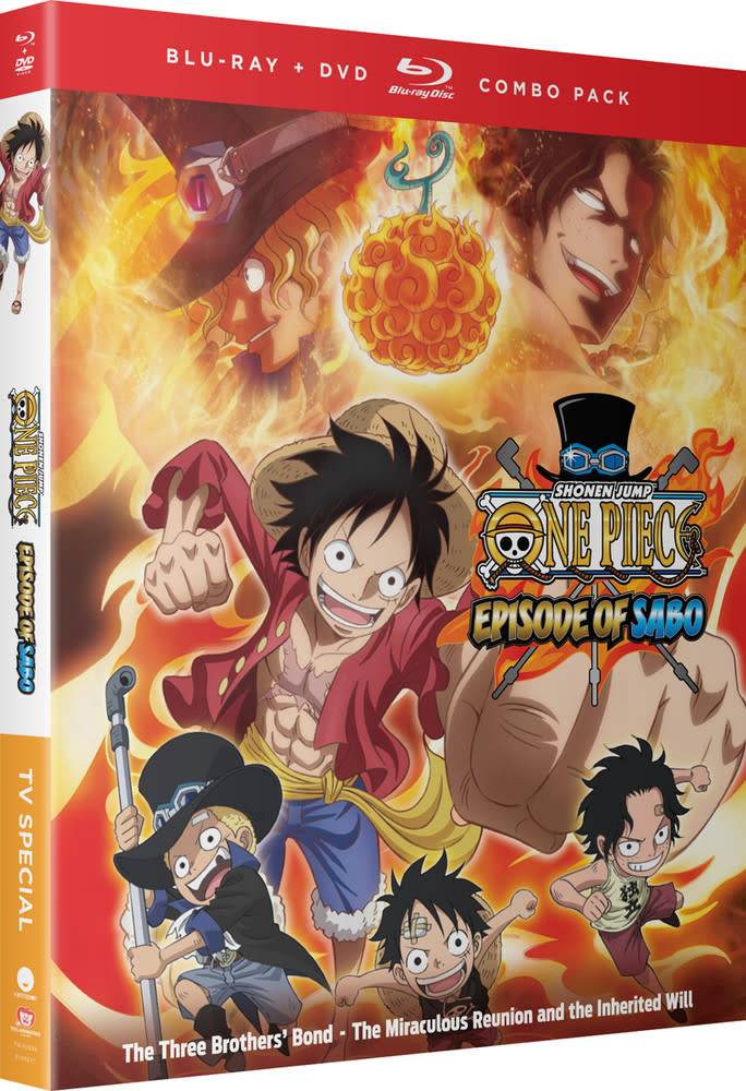 Funimation Entertainment One Piece Episode Of Sabo Blu-Ray/DVD