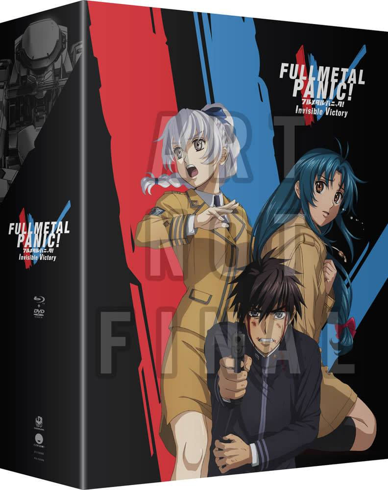 Funimation Entertainment Full Metal Panic Invisible Victory Limited Edition Blu-Ray/DVD