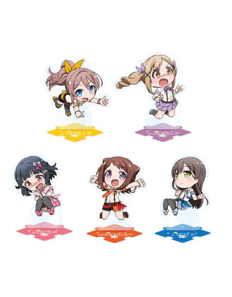 Bushiroad BanG Dream! Pico Tsunagete Acrylic Stand Poppin' Party*