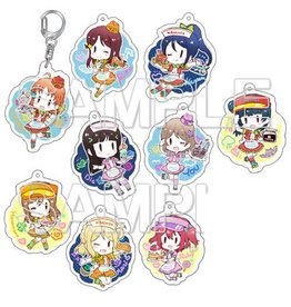 Love Live! Sunshine!! Acrylic Keychain School Idol Diary Ver Vol. 4 Full Box