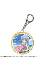 Kadokawa Index Certain Magical Index III Round Keychain