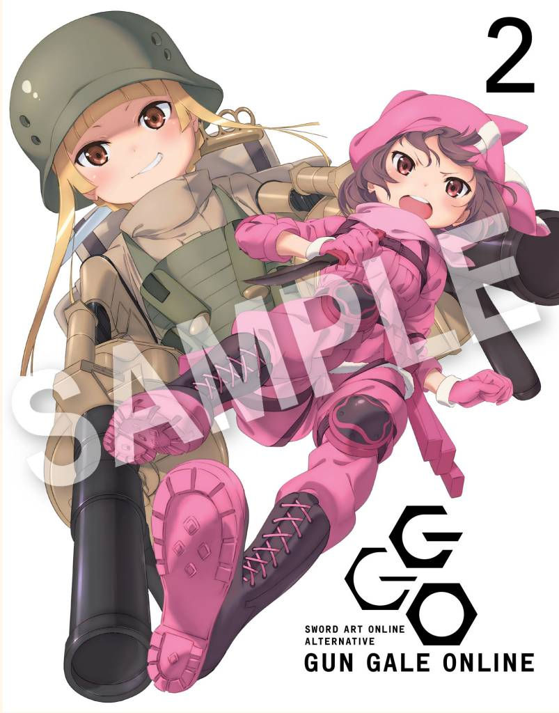 Aniplex of America Inc Sword Art Online Alternative: Gun Gale Online Blu-Ray Vol. 2
