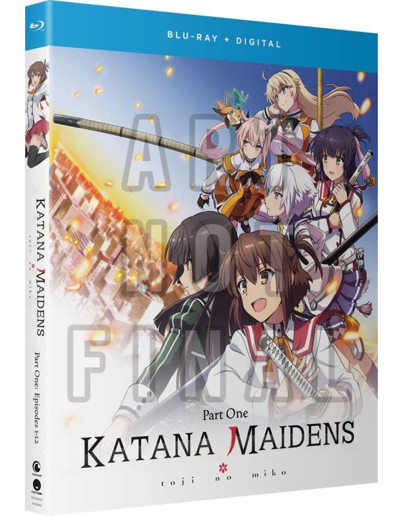 Funimation Entertainment Katana Maidens Toji No Miko Part 1 Blu-Ray