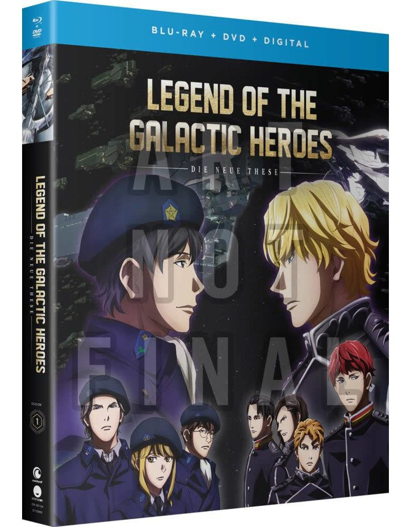 Funimation Entertainment Legend Of The Galactic Heroes Die Neue These Season 1 Blu-Ray/DVD