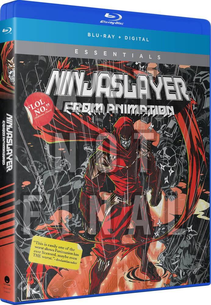Funimation Entertainment Ninja Slayer Essentials Blu-Ray