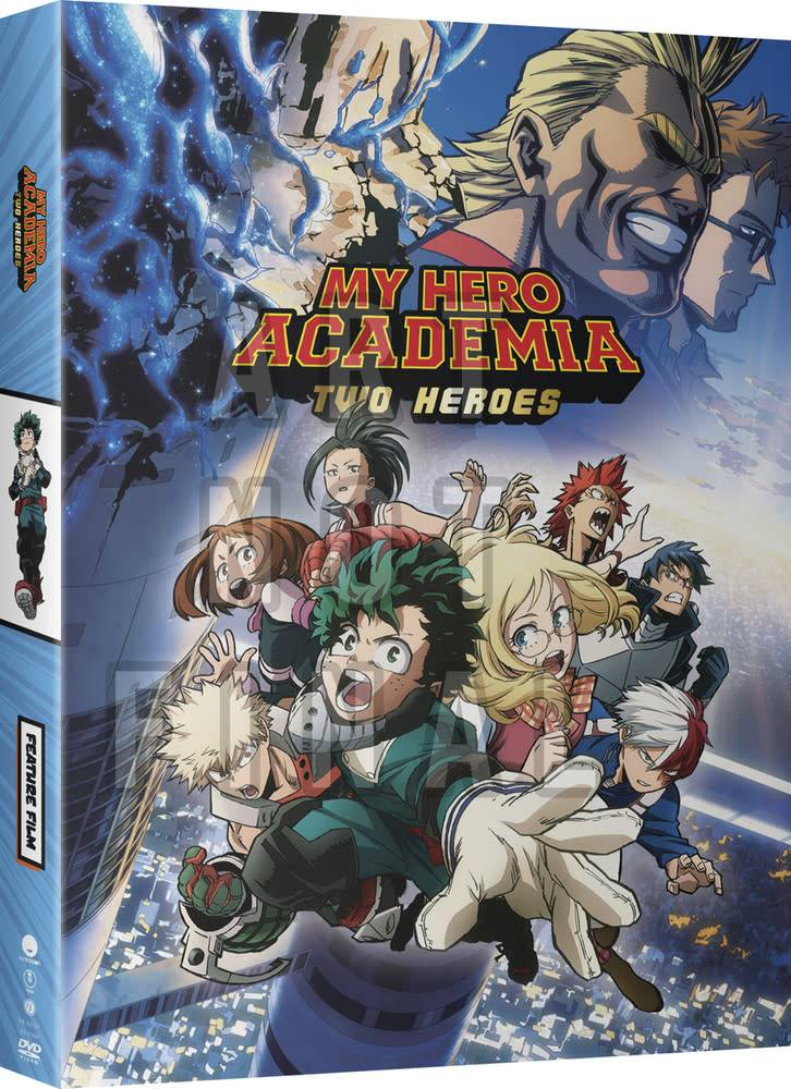 Funimation Entertainment My Hero Academia Two Heroes DVD