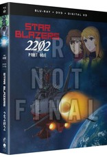 Funimation Entertainment Star Blazers Space Battleship Yamato 2202 Part 1 Blu-Ray/DVD