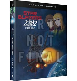 Funimation Entertainment Star Blazers Space Battleship Yamato 2202 Part 1 Blu-Ray/DVD