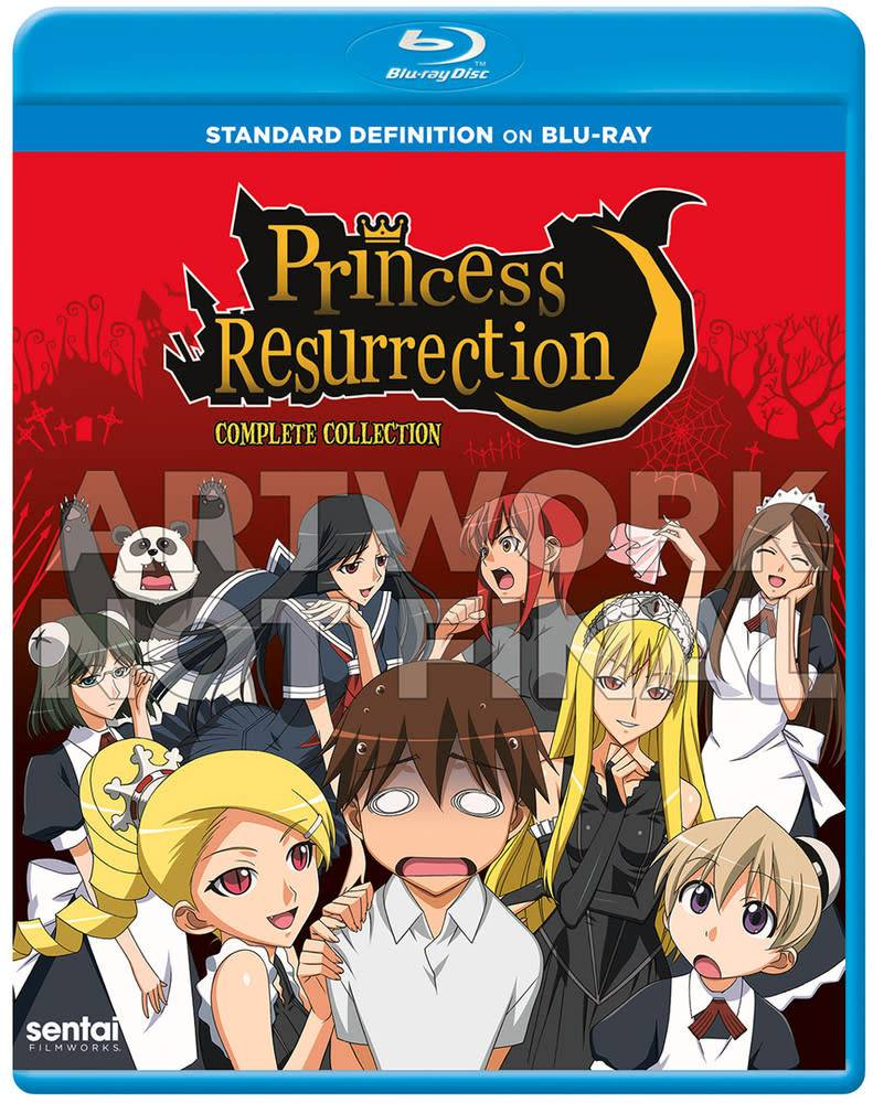 Sentai Filmworks Princess Resurrection Complete Collection Blu-Ray