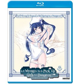 Sentai Filmworks Is It Wrong To Expect A Hot Spring In A Dungeon?! Blu-Ray SE