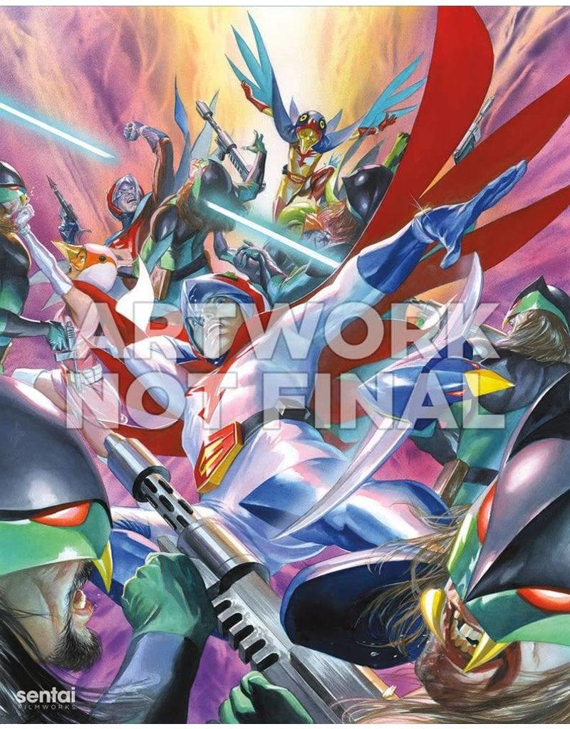 Sentai Filmworks Gatchaman Blu-Ray Collectors Edition