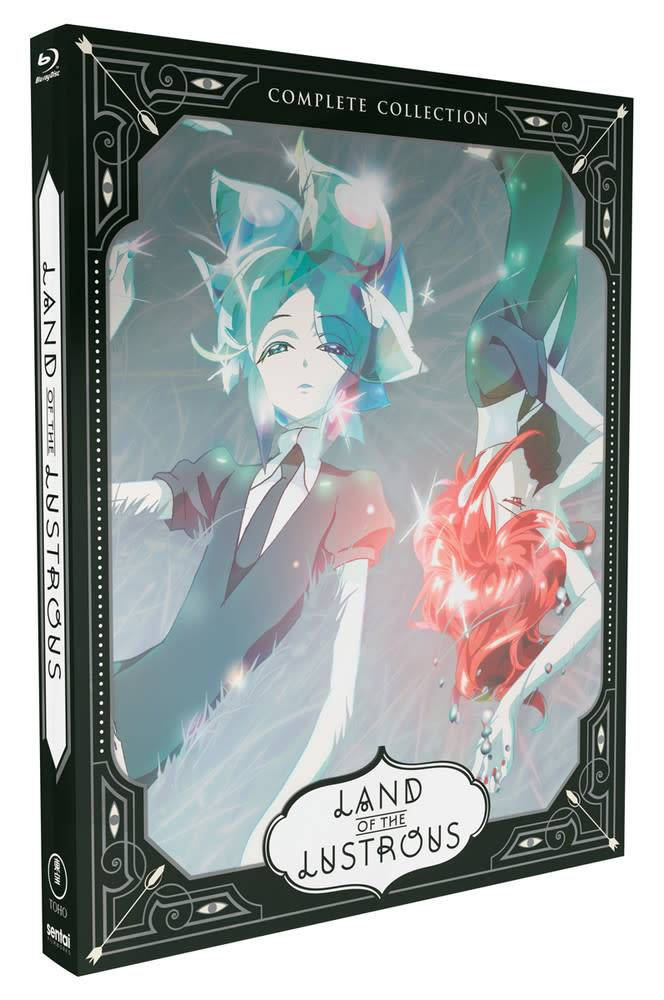 Sentai Filmworks Land of the Lustrous Steelbook Blu-Ray