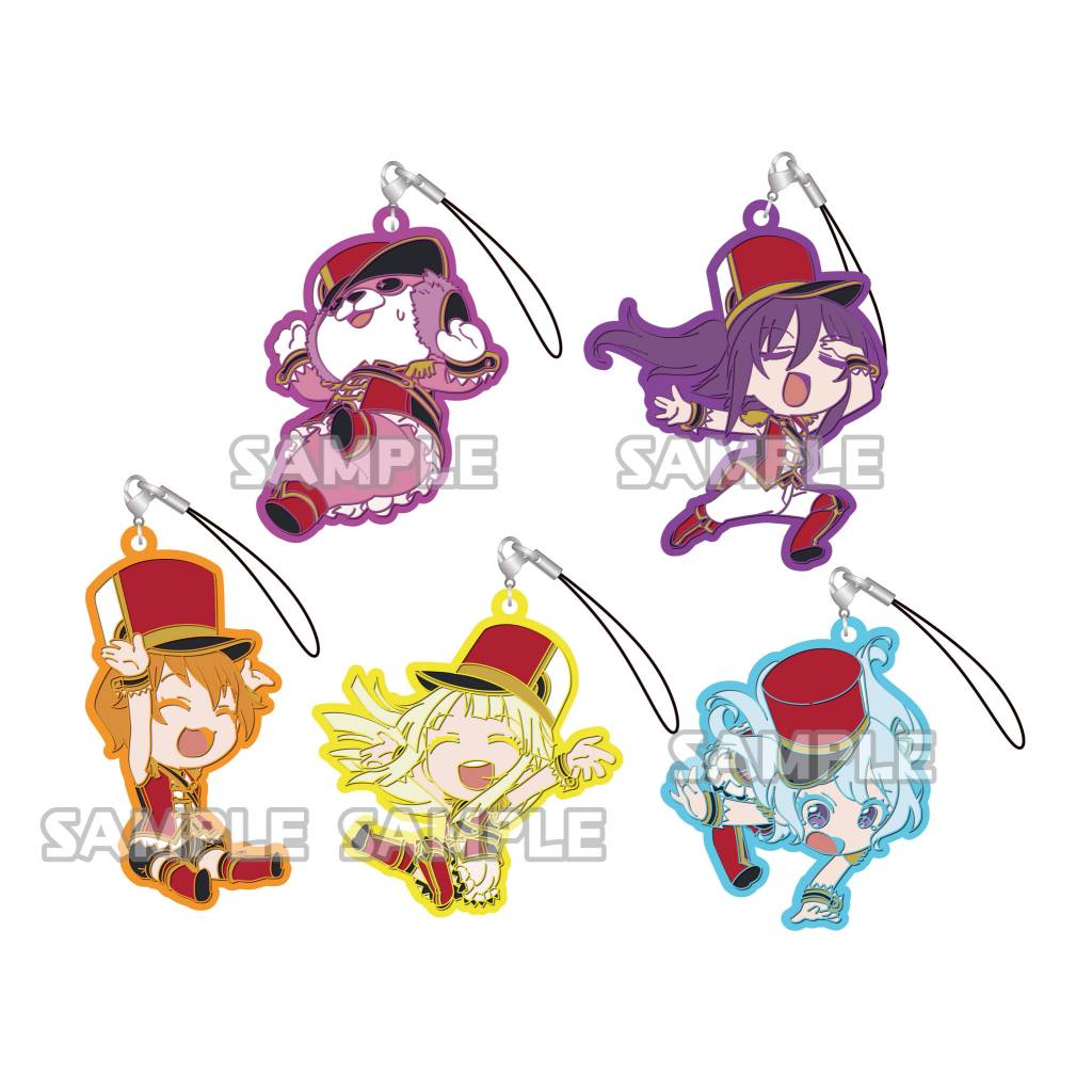 Bushiroad BanG Dream Garupa Pico Strap Hello Happy World