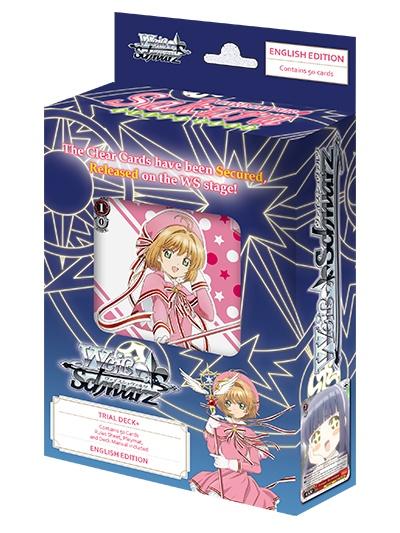 Bushiroad Cardcaptor Sakura Clear Card Weiss Schwarz TD+