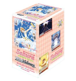 Bushiroad Cardcaptor Sakura Clear Card (Full Booster Box) Weiss Schwarz