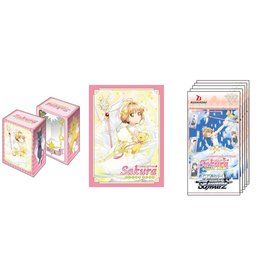 Bushiroad Cardcaptor Sakura Clear Card Weiss Schwarz Supply Set