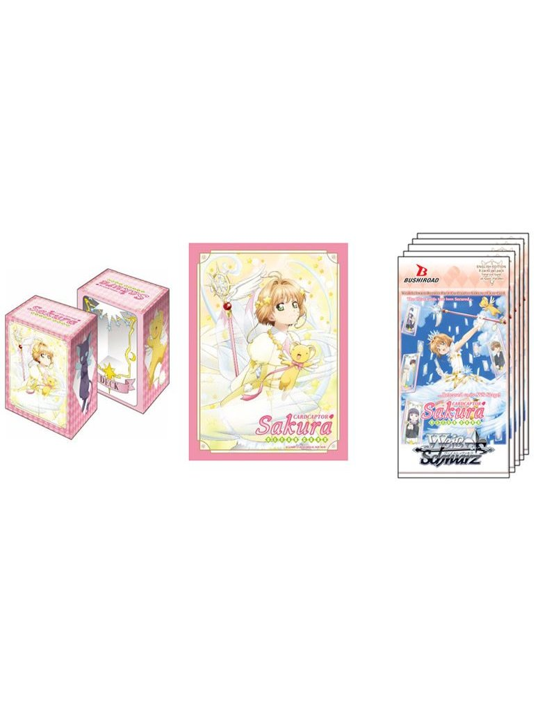 Bushiroad Cardcaptor Sakura Clear Card Weiss Schwarz Supply Set