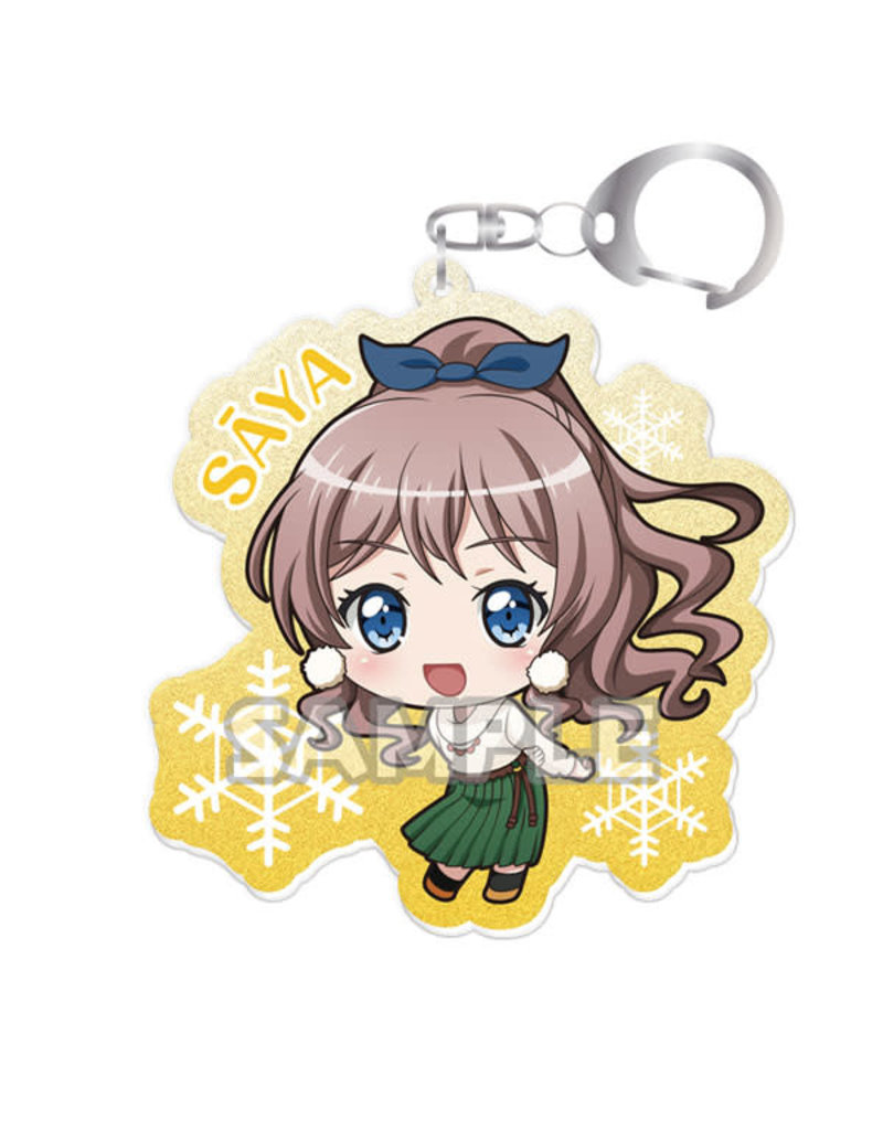 Bushiroad BanG Dream! Kiratto Acrylic Keychain (Poppin' Party) Vol. 2