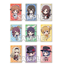 Bushiroad Revue Starlight Alice in Wonderland Square Badge