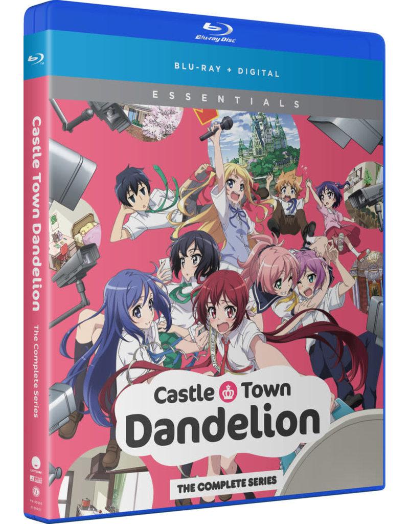 Funimation Entertainment Castle Town Dandelion Essentials Blu-Ray