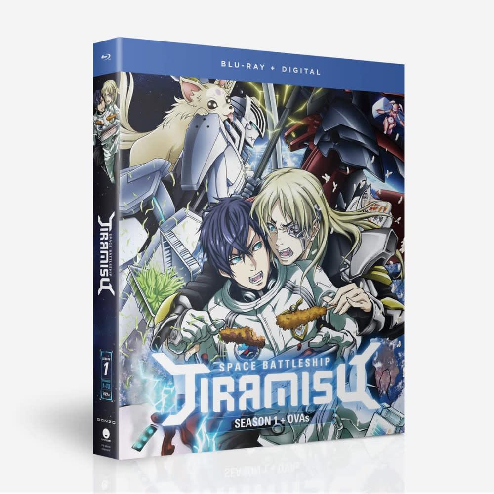 Funimation Entertainment Space Battleship Tiramisu Season 1 + OVAs Blu-Ray