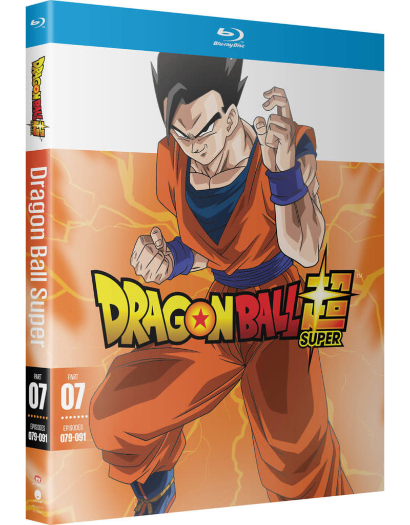 Funimation Entertainment Dragon Ball Super Part 7 Blu-Ray
