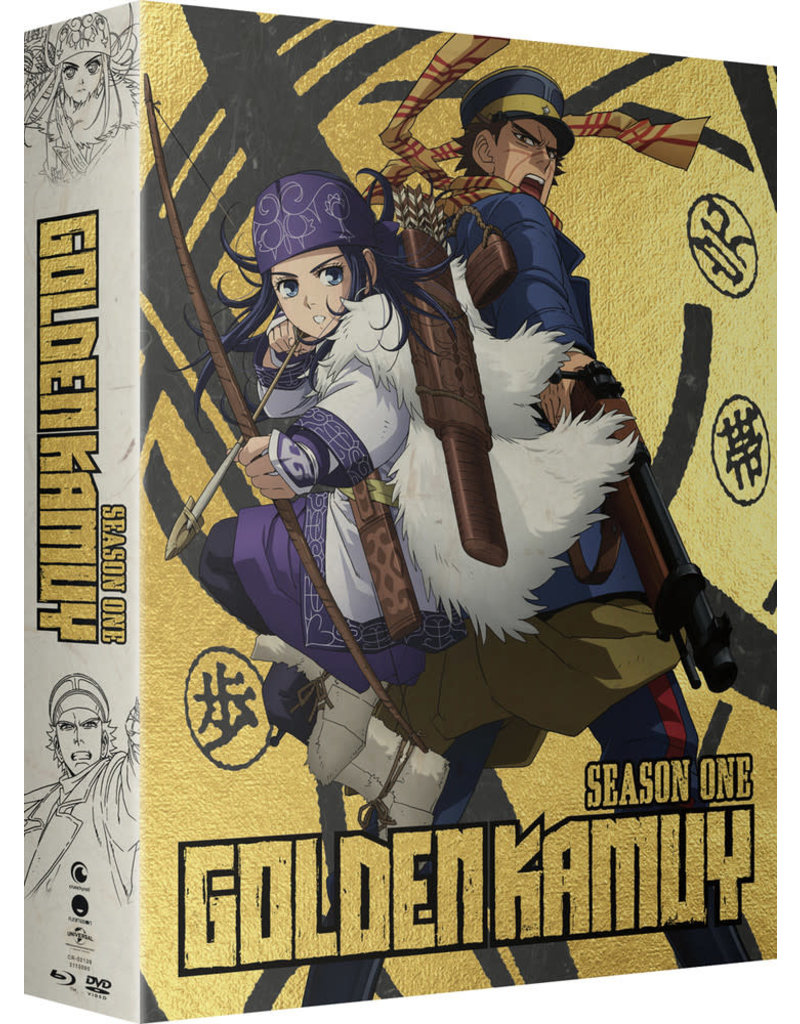 Funimation Entertainment Golden Kamuy Season 1 Limited Edition Blu-Ray/DVD