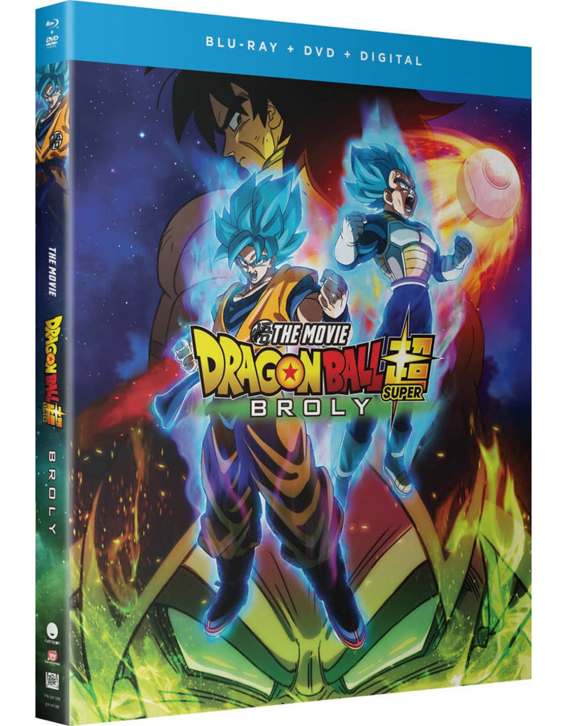 Funimation Entertainment Dragon Ball Super Movie Broly Blu-Ray/DVD