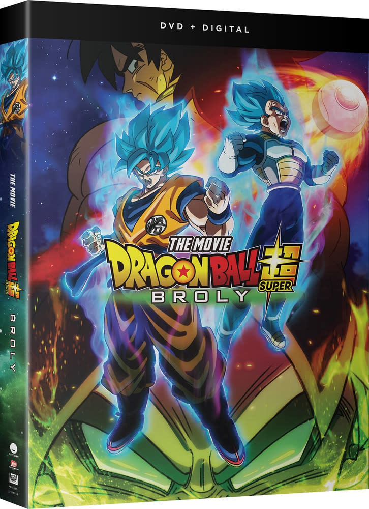 Funimation Entertainment Dragon Ball Super Movie Broly DVD