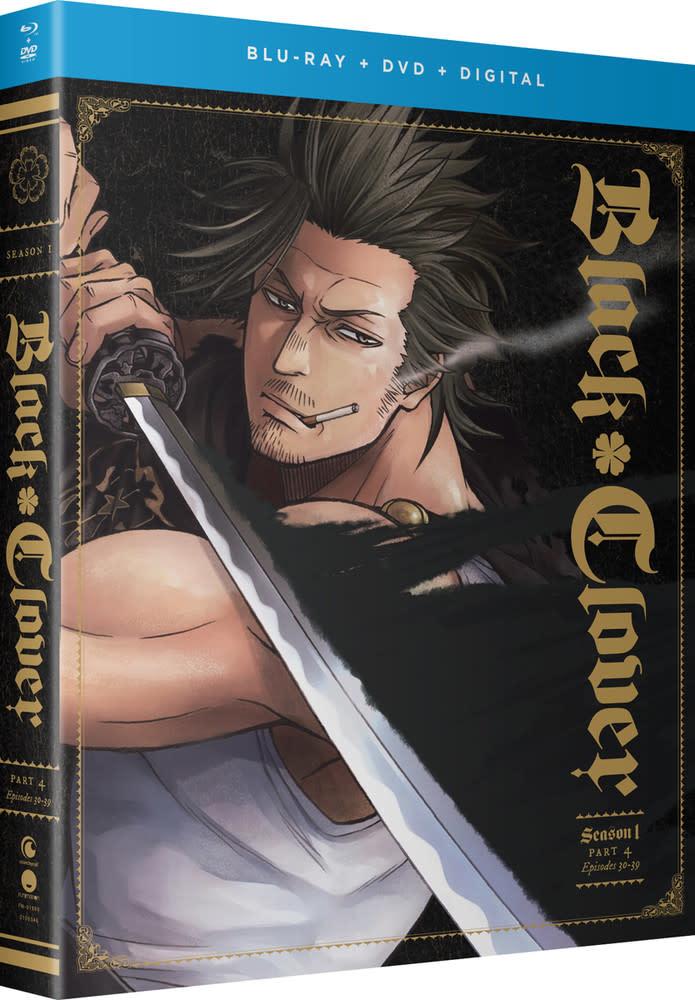 Funimation Entertainment Black Clover Season 1 Part 4 Blu-Ray/DVD