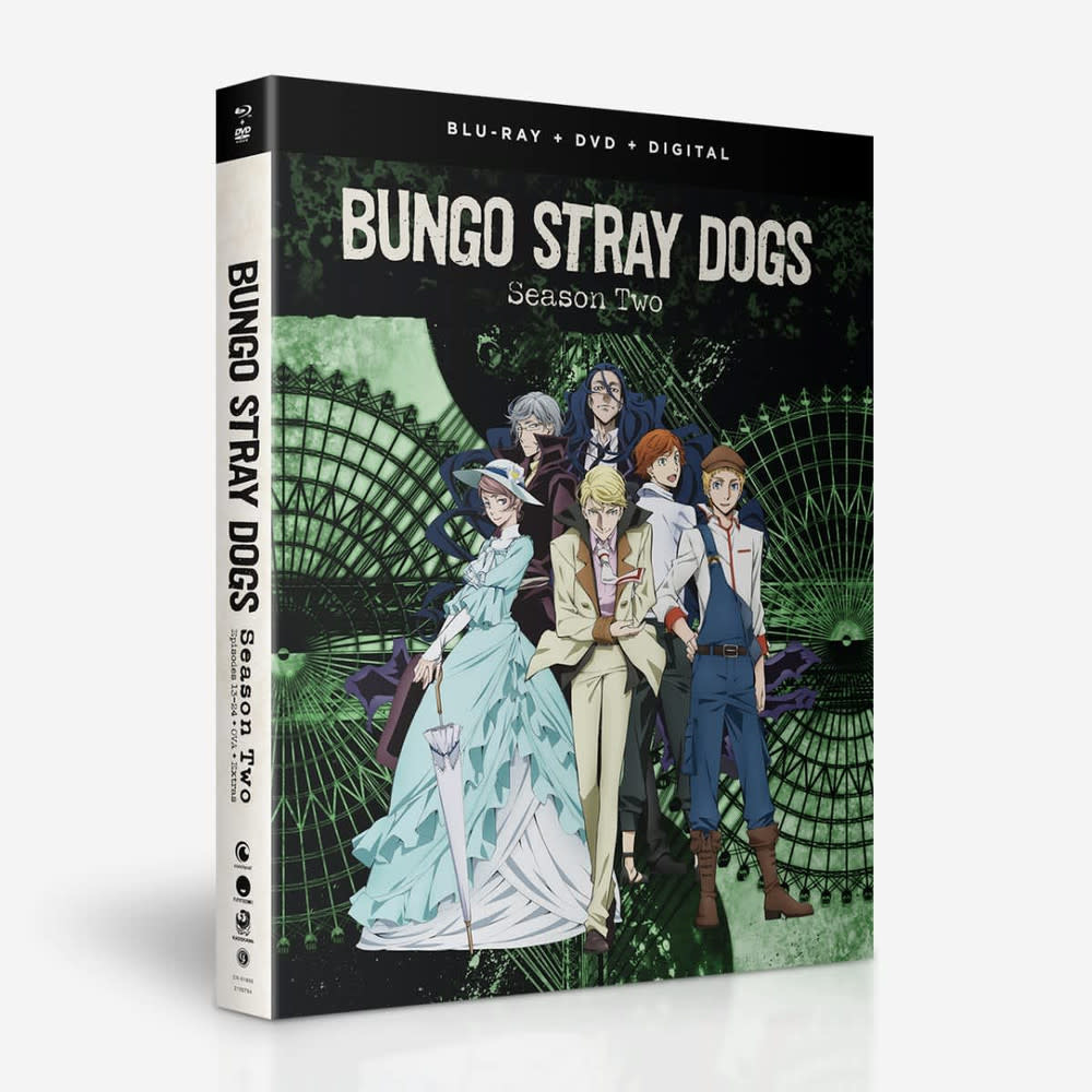 Funimation Entertainment Bungo Stray Dogs Season 2 Blu-Ray/DVD