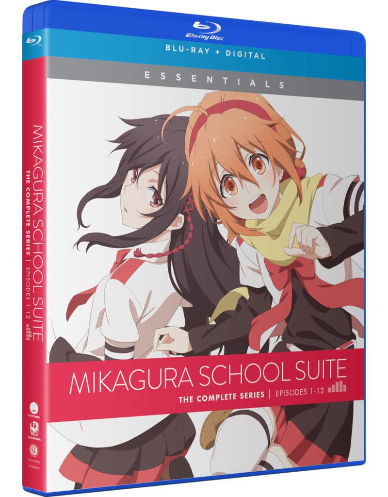 Funimation Entertainment Mikagura School Suite Essentials Blu-Ray