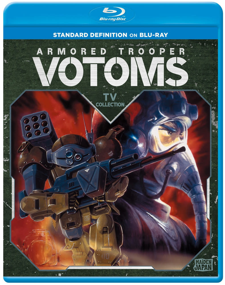 Sentai Filmworks Armored Trooper Votoms TV Collection Blu-Ray
