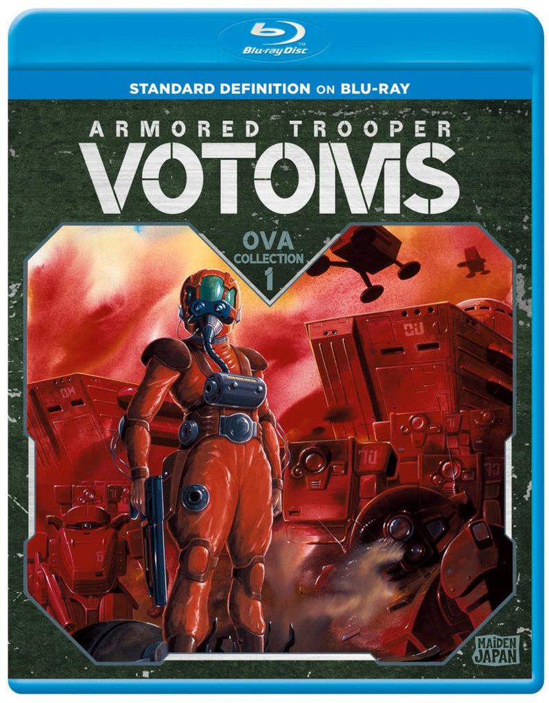 Sentai Filmworks Armored Trooper Votoms OVA Collection 1 Blu-Ray