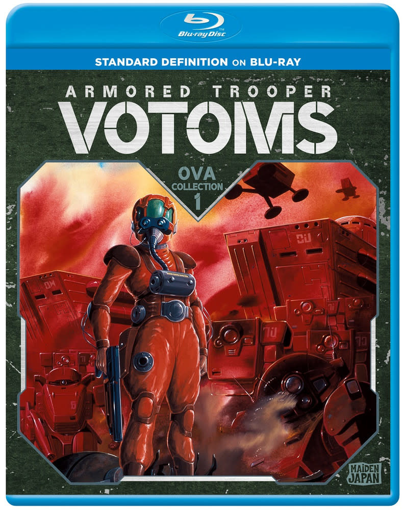 Sentai Filmworks Armored Trooper Votoms OVA Collection 1 Blu-Ray