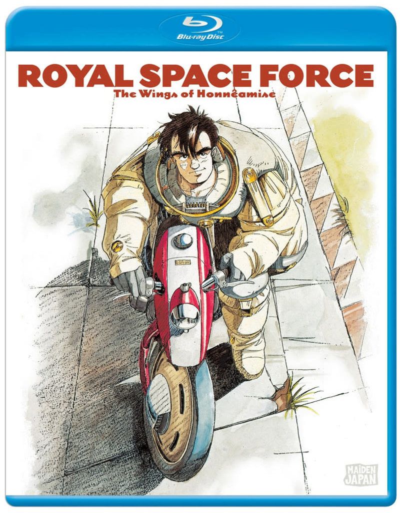 Sentai Filmworks Royal Space Force Wings Of Honneamise Blu-Ray