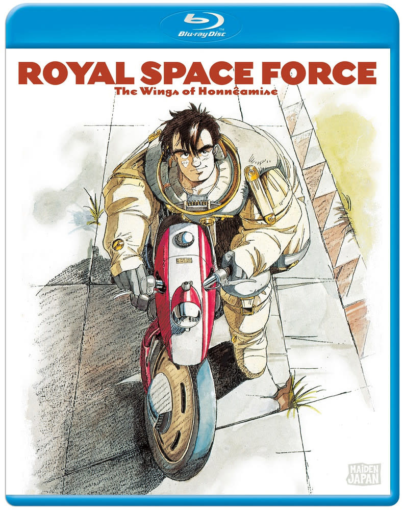 Sentai Filmworks Royal Space Force Wings Of Honneamise Blu-Ray