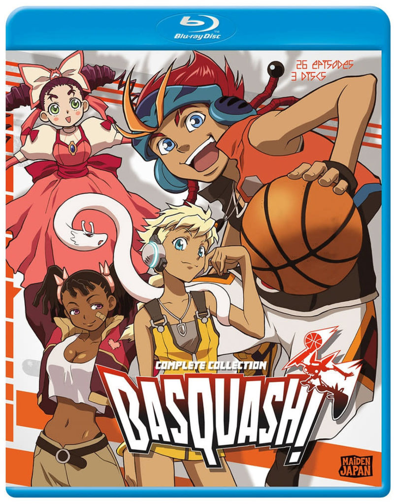 Sentai Filmworks Basquash! Blu-Ray