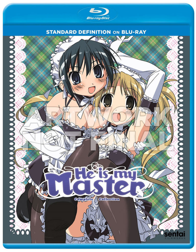 Sentai Filmworks He Is My Master Blu-Ray