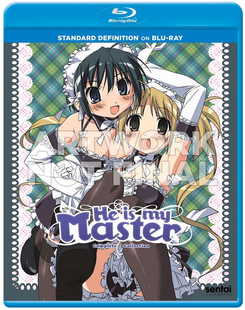 Sentai Filmworks He Is My Master Blu-Ray