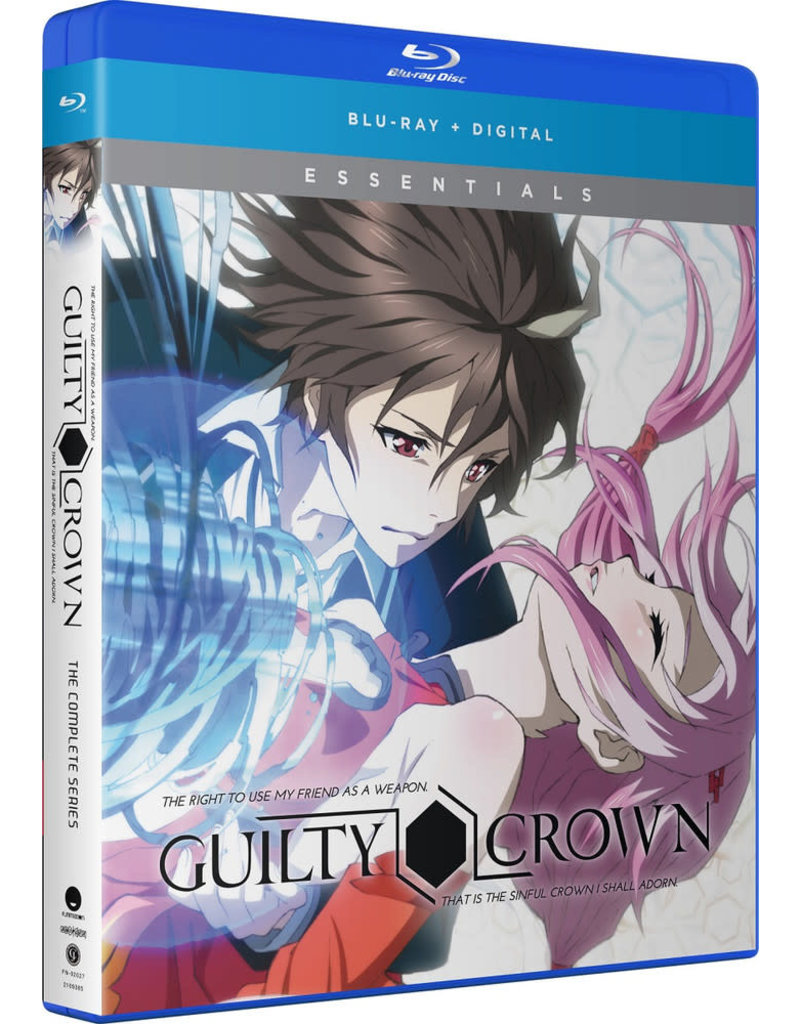 Funimation Entertainment Guilty Crown Essentials Blu-Ray