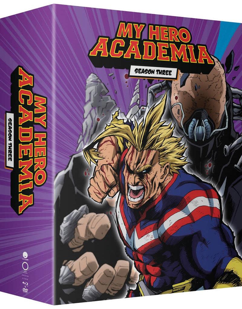 Funimation Entertainment My Hero Academia Season 3 Part 1 Limited Edition BD/DVD