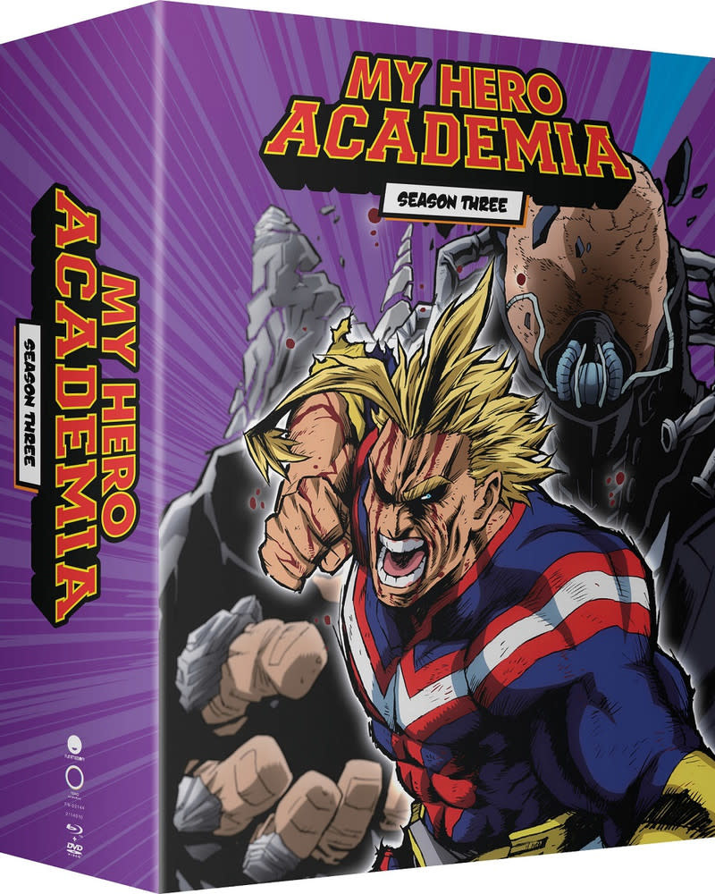 Funimation Entertainment My Hero Academia Season 3 Part 1 Limited Edition BD/DVD