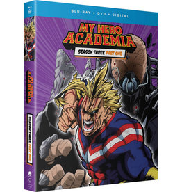Funimation Entertainment My Hero Academia Season 3 Part 1 Blu-Ray/DVD