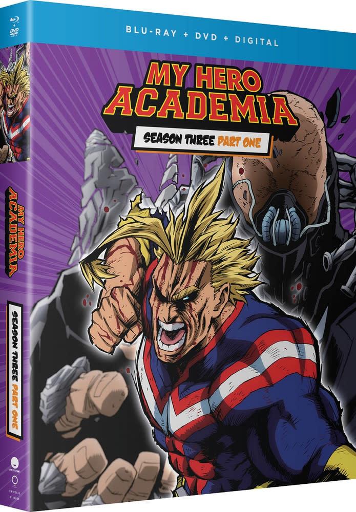 Funimation Entertainment My Hero Academia Season 3 Part 1 Blu-Ray/DVD